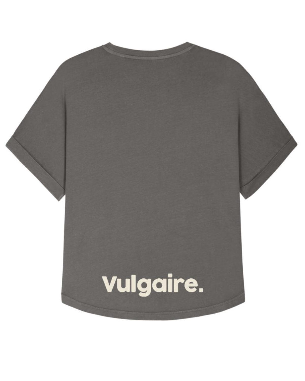 T-shirt femme Oversize - Vulgaire. Gris