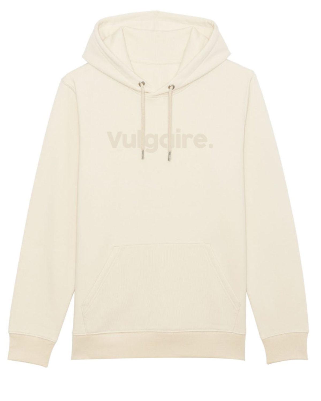 Hoodie - Vulgaire. Natural
