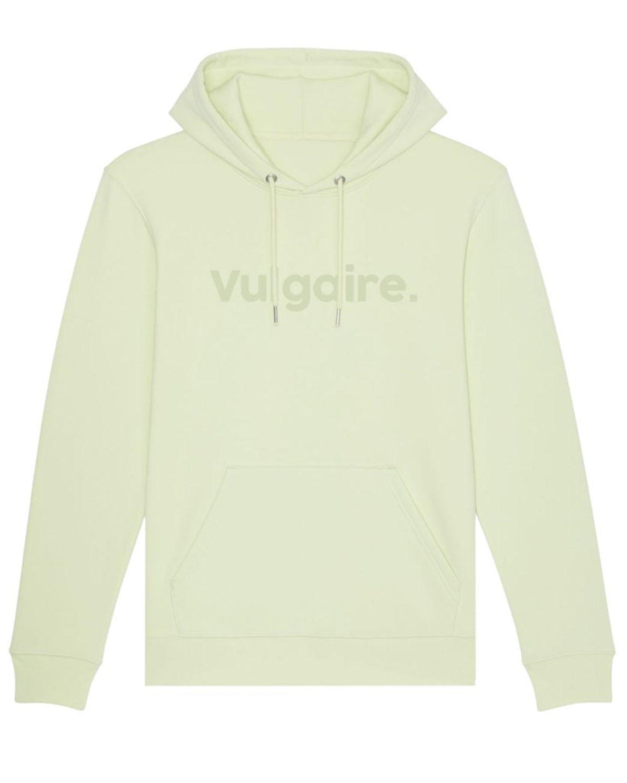 Hoodie - Vulgaire. Green