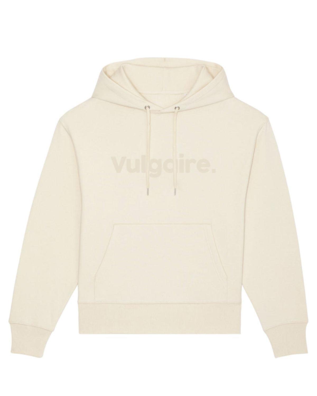 Hoodie confort - Vulgaire. Natural